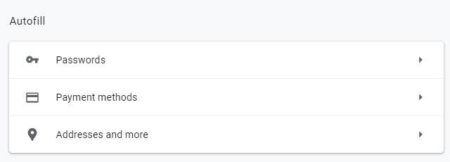 Google Chrome: Функция за Автоматично попълване (Autofill)